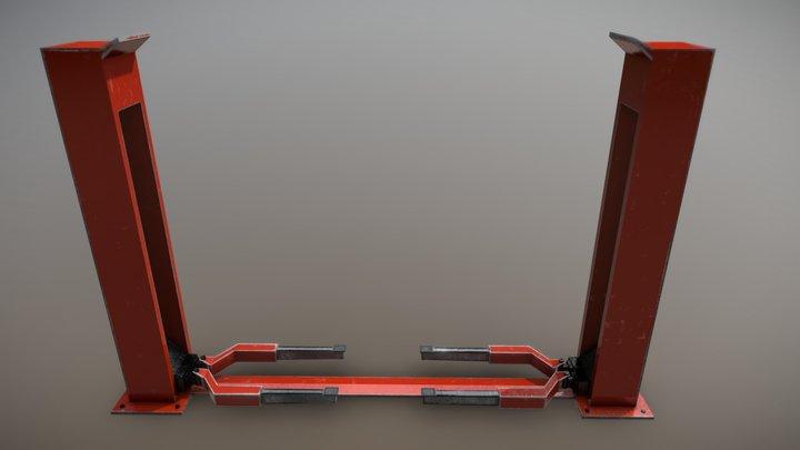 Car Lift pbr 3D Model