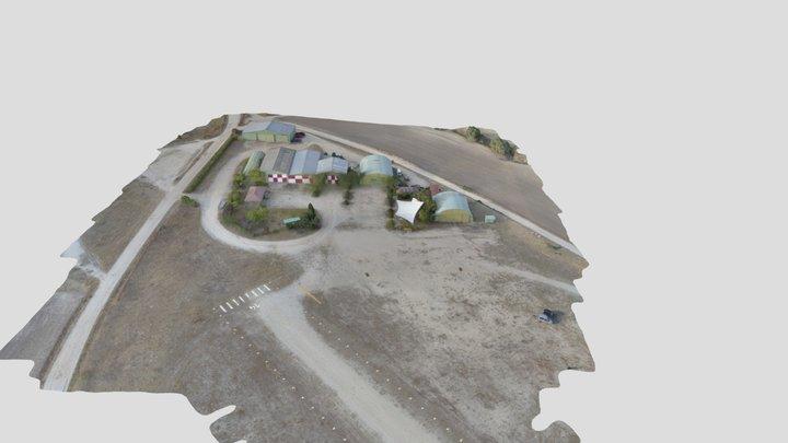 Aerodromo El Pardillo Edit Simplified 3d Mesh 3D Model
