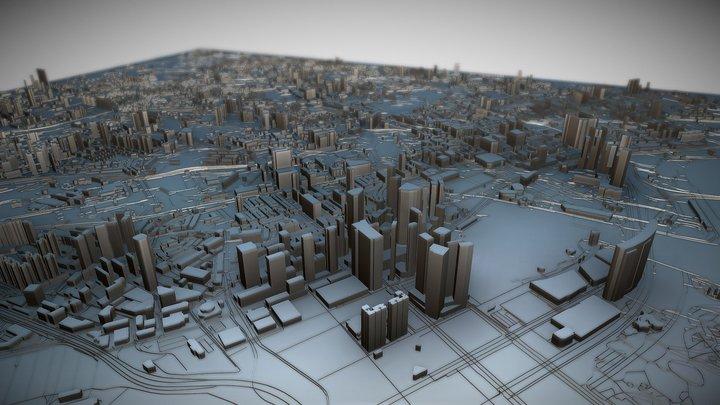 Singapore 3D Model