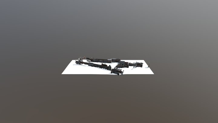 Wantage Town 3D Model