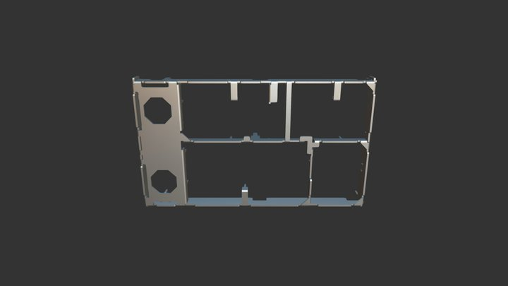 TUNER CHASSIS 3D Model
