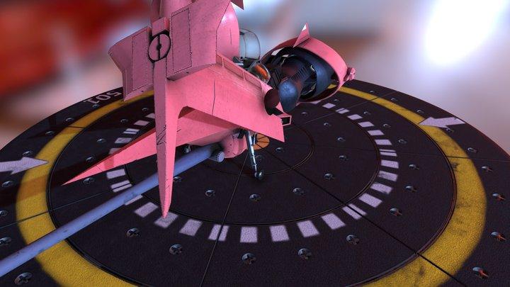 Swordfish monoracer 3D Model