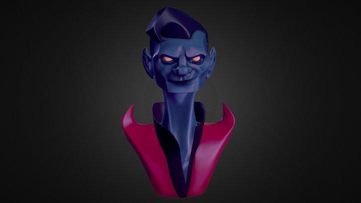 Nightcrawler Sharp&Flat 3D Model