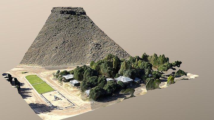 Ciudad de Comallo (Patagonia Argentina) 3D Model