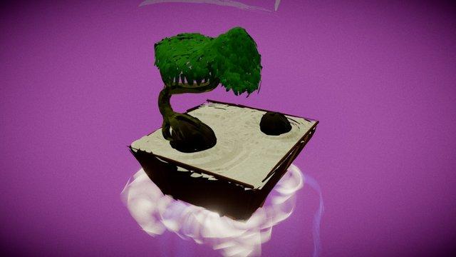 Zen Garden 3D Model
