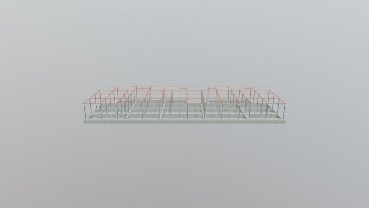 10units Structure 3D Model