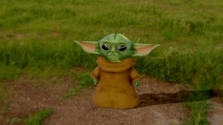 The Mandalorian: Baby Yoda 3D Model