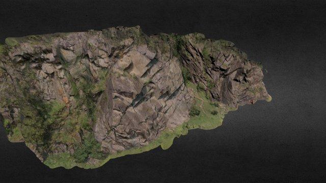 3D Modell Klettergarten Oberried, Ötztal Austria 3D Model