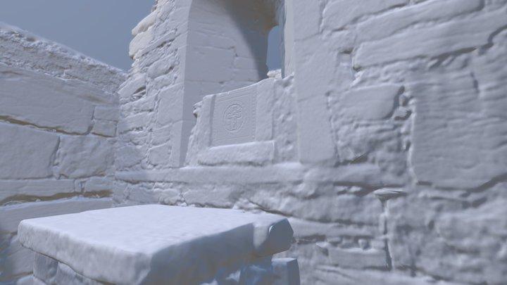 Cill Caomhán, Inis Oir 3D Model