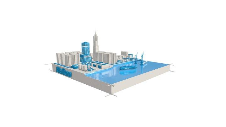 Halton City 3D Model