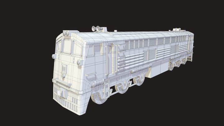 Ge 3D Model