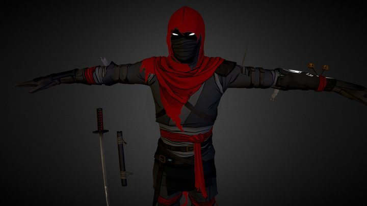 Aragami 2.0 - Shadow Assassin 3D Model