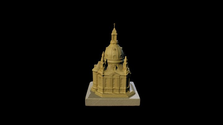 Dresdner Frauenkirche 3D Model