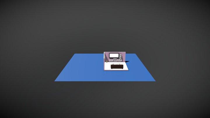 polygon room design3 3D Model