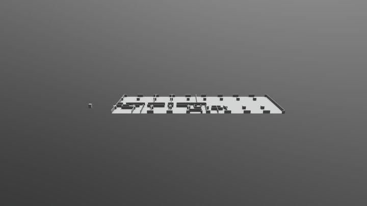 Grundriss_Tuechtig 3D Model