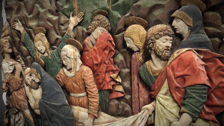Giacomo del Maino - Mise au tombeau 3D Model