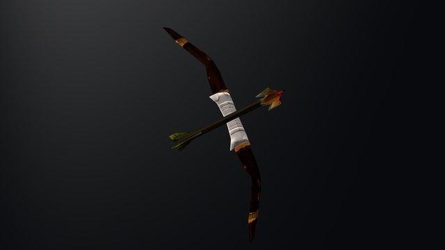 Dota 2 Clinkz Weapon 3D Model