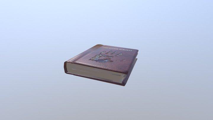 The elder scrolls book We knows 3D Model