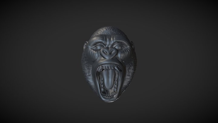 Gorilla Ring 3D Model