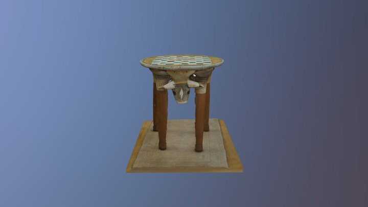 Cow Table 3D Model