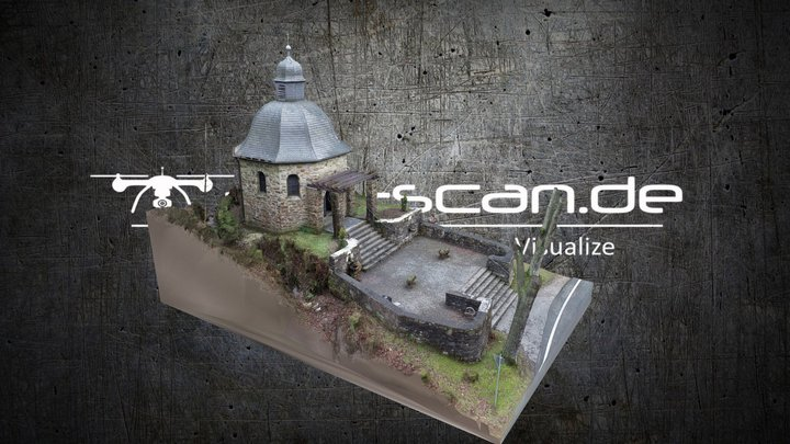 Draft: Chapel in the Woods - reconstructed in RC 3D Model