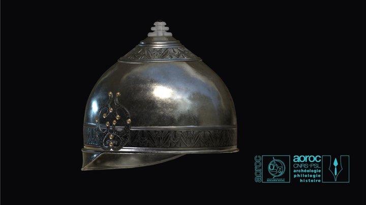 Reconstitution casque d'Ensérune 3D Model