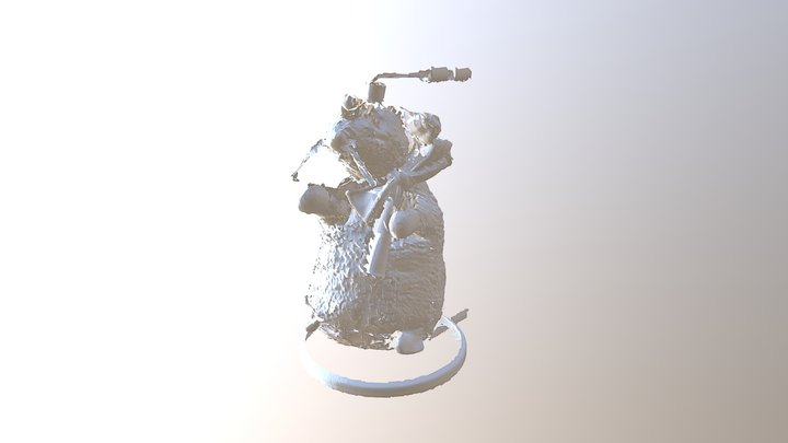 old scan of Goldberg 3D Model