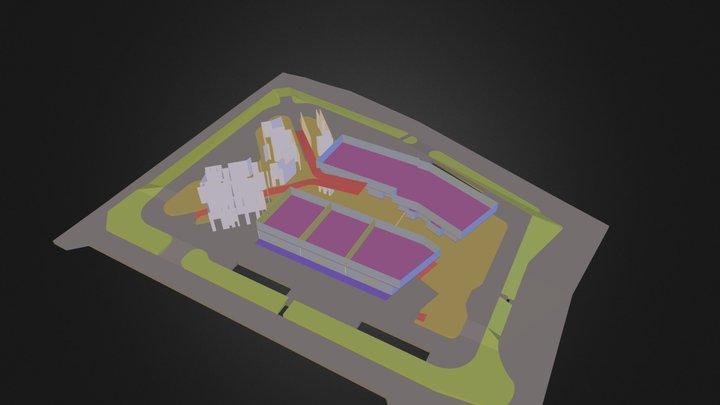 VIRTUAL TOUR GLMC BASE.3DS 3D Model
