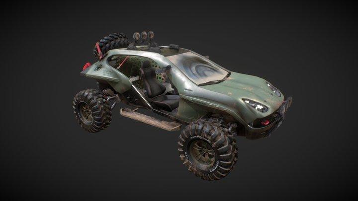 Baja 3D Model
