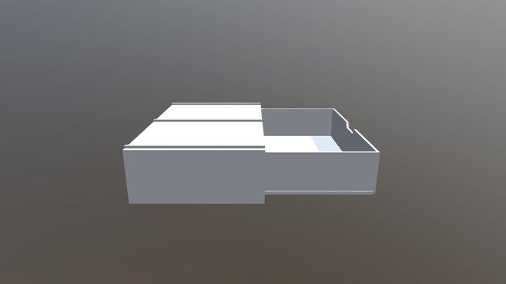 Stapelbar Låda 3D Model