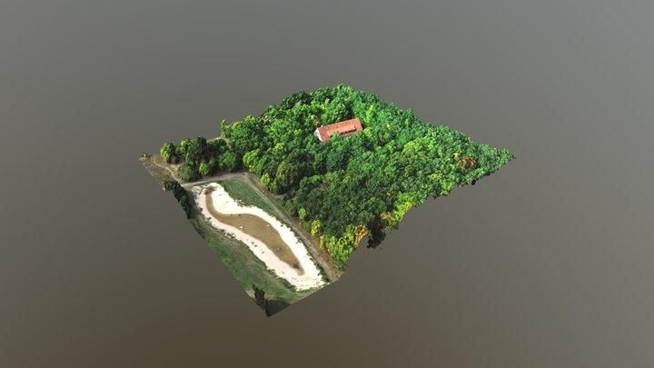 Ehemalige Kaserne Forst Jena 3D Model