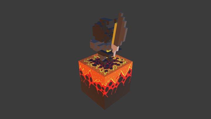 Dark knight 3D Model
