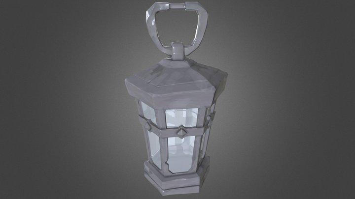 Stylised Lantern - Insp from SoT 3D Model