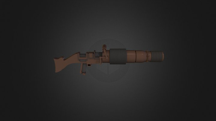 T-21 Light Repeating Blaster Rifle 3D Model