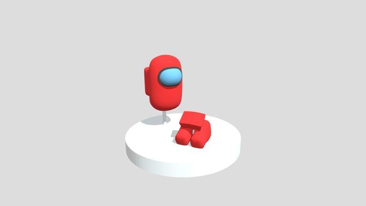 Among Us Scene 3D Model