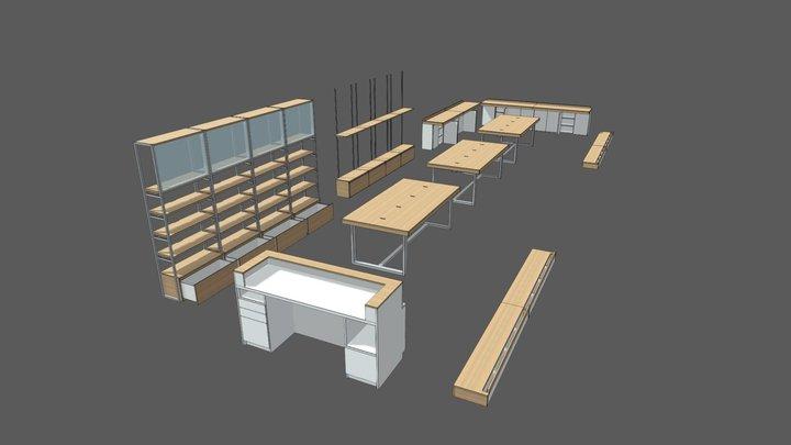 MI STORE 3D Model