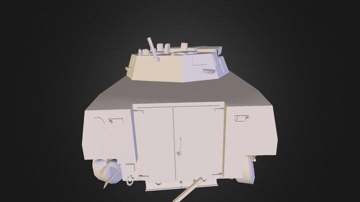 Rosomak 3D Model