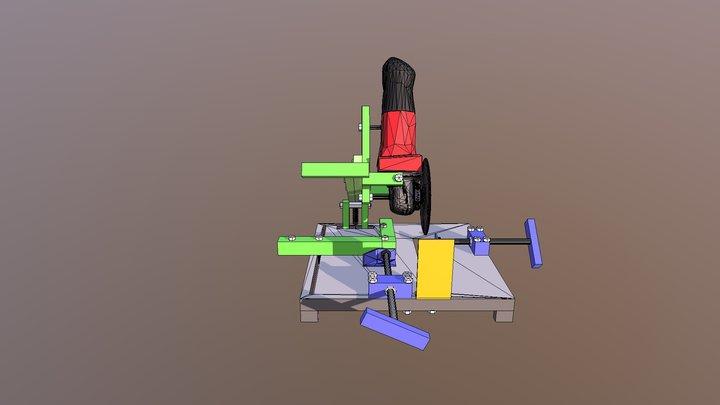DIY Angle Grinder Universal Bracket 3D Model