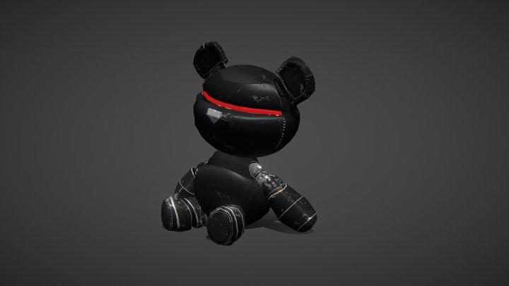 Robot Bear 3D Model