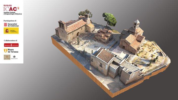 1. Episcopal See of Egara (centuries V - VIII). 3D Model