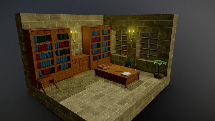 Judgemaster's Quarters 3D Model