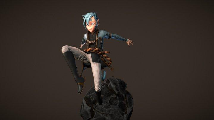 "Monkey ""Ao"" 3D Model"