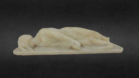 St Cecilia Statuette 3D Model