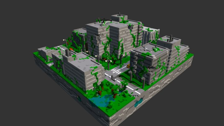 Post Apo City 3D Model