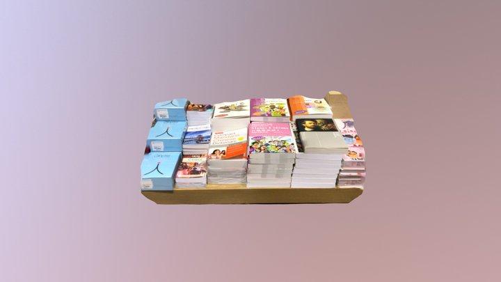 Eslite Book Stack 3D Model