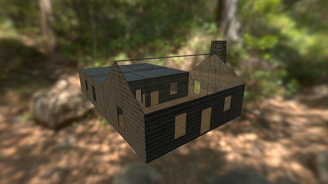 Ash's Cabin 3D Model