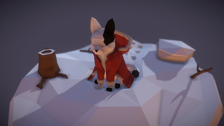 3December2018 Day1 - Winter Coat 3D Model