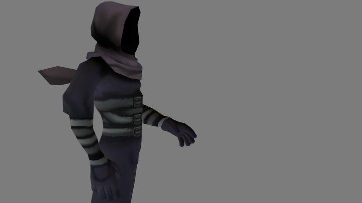 The forgotten assassin 3D Model
