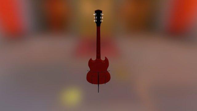 Gibson SG Guitar 3D Model