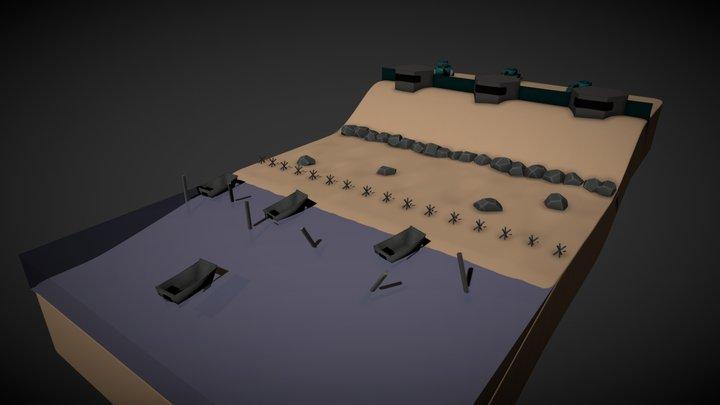 Mini D-DAY Final 3D Model